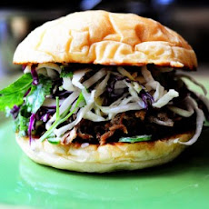 Pork Sandwiches with Cilantro-Jalapeno Slaw