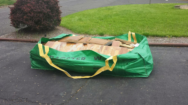 Bagster is a great alternative of dumpster, available in Home Depot n Lowes