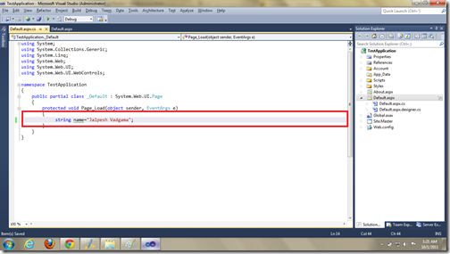 Line Highligher in Visual Studio 2011 Developer Preview