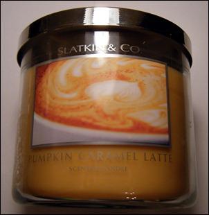Slatkin & Co. Pumpkin Caramel Latte