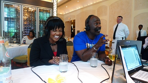 Chef Emeril had the platinum-selling gospel/R&B duo cracking up on the air. The whole Winans family loves food, especially cheese, but Chef blew their minds by serving cheddar cheese apple pie!