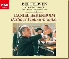 Beethoven concierto piano 2 Barenboim Berlin EMI
