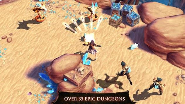 Dungeon Hunter 4 apk screenshot