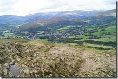 Wansfell Pike--the rough  path to Ambleside