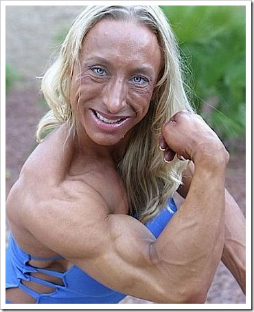 Funny fail female body building.