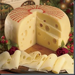 Swiss colony baby swiss cheese