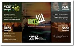 Goyaz Festival Programação