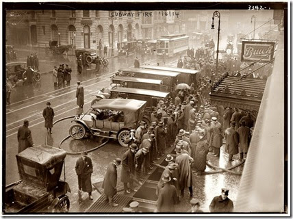 Fire at 55th StreetNew York 1915