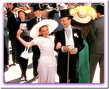 Imagem da última cena com Judy Garland e Fred Astaire em Desfile de Páscoa
