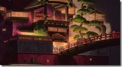 Spirited Away Bath House Bridge