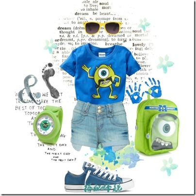 Monster University Inspired Mix and Match 02