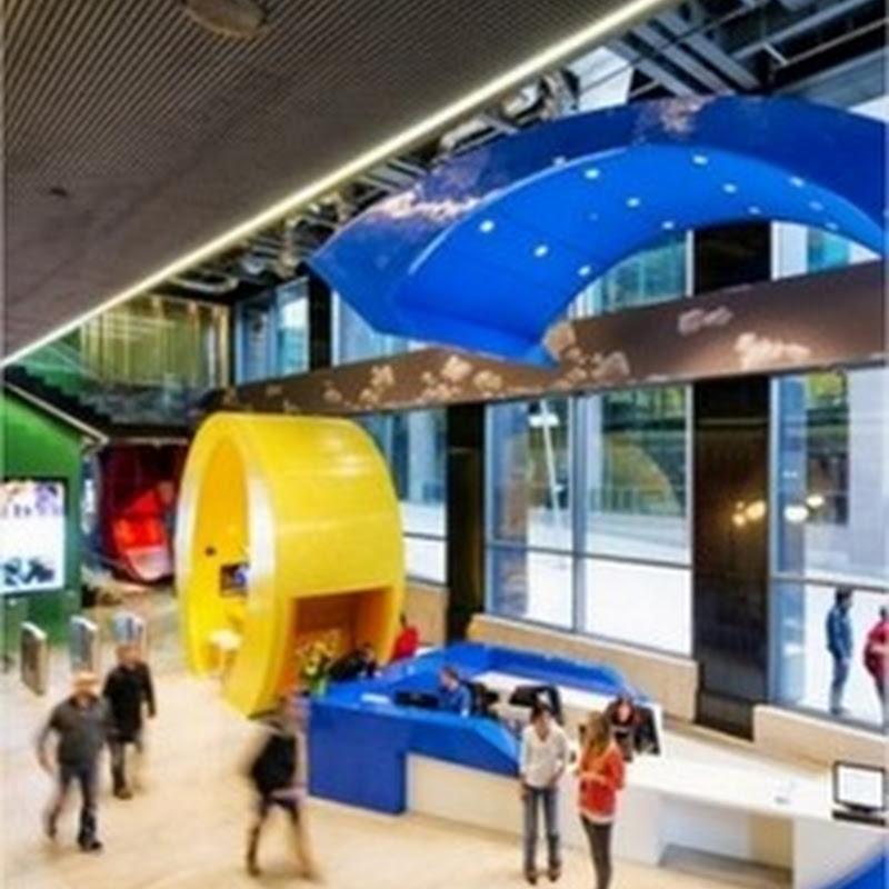 Así son las oficinas de Google en Irlanda