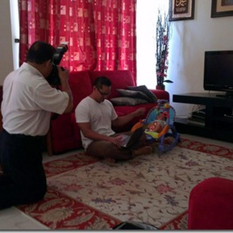 Selepas interview dengan wartawan KOSMO ..