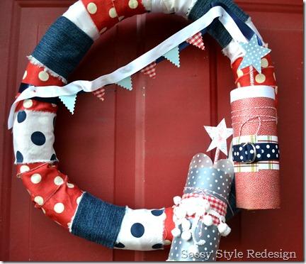 firecracker wreath finished