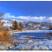 Bavière : Lac Schliersee en hiver