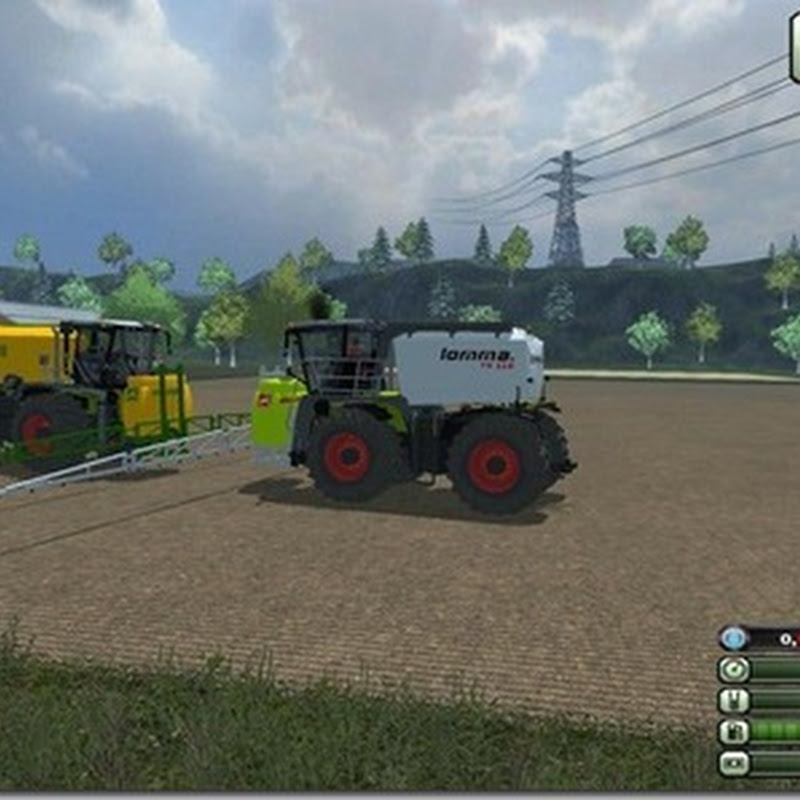 Farming simulator 2013 - Xerion SaddleTrac SprayerPack