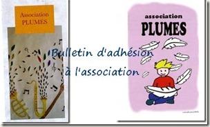 Adhésion PLUMES