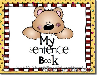 My Sentence Book Title Pic