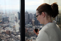 Kristy at the skydeck