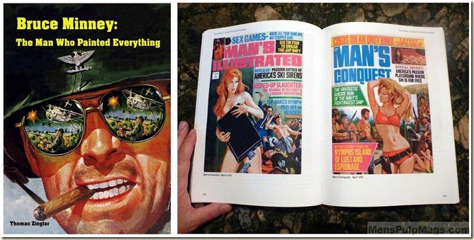 Bruce Minney book, cover & inside