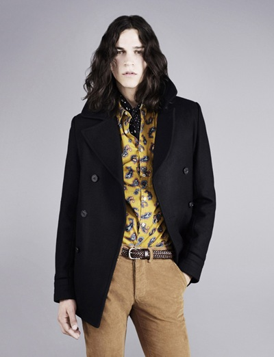 Mile McMillan by Ben Toms for Topman F/W 2011. Styled by Robbie Spencer