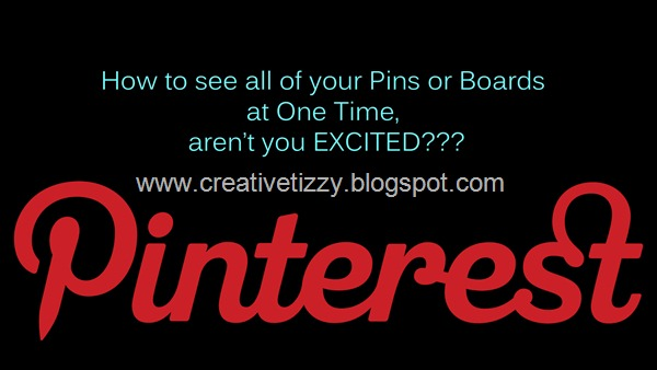 Pinterest Logo with my CT text for Post