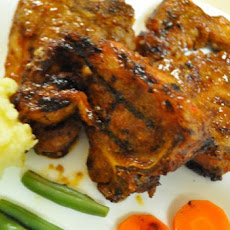 Spicy Grilled Lamb Chops