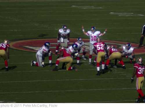 '49ers giants' photo (c) 2011, Peter McCarthy - license: http://creativecommons.org/licenses/by-nd/2.0/