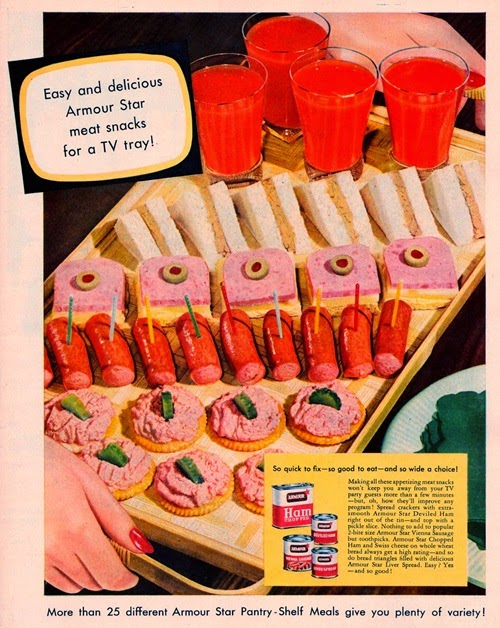 armour star meat snacks 1954
