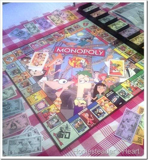 P&F Monopoly