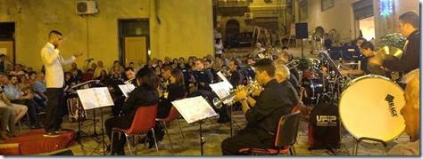 Il concerto in piazza Magno