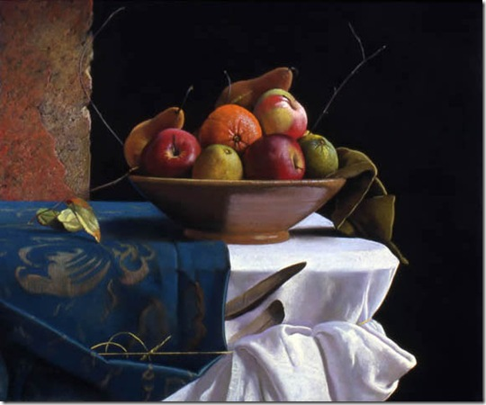 Bowl-of-Fruit-by-a-Window-Ron-Monsma-ENKAUSTIKOS