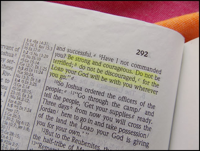 Joshua 1  9 Faith challenge (1)