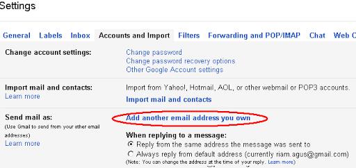 Menumpang di SMTP Gmail 2