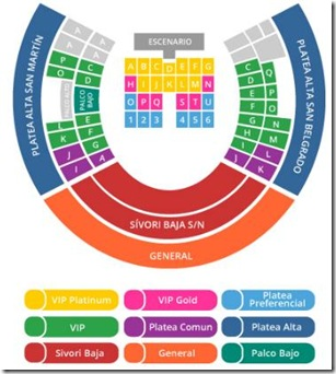 justin bieber lugares en River Plate compra entradas baratas en linea ticketeck