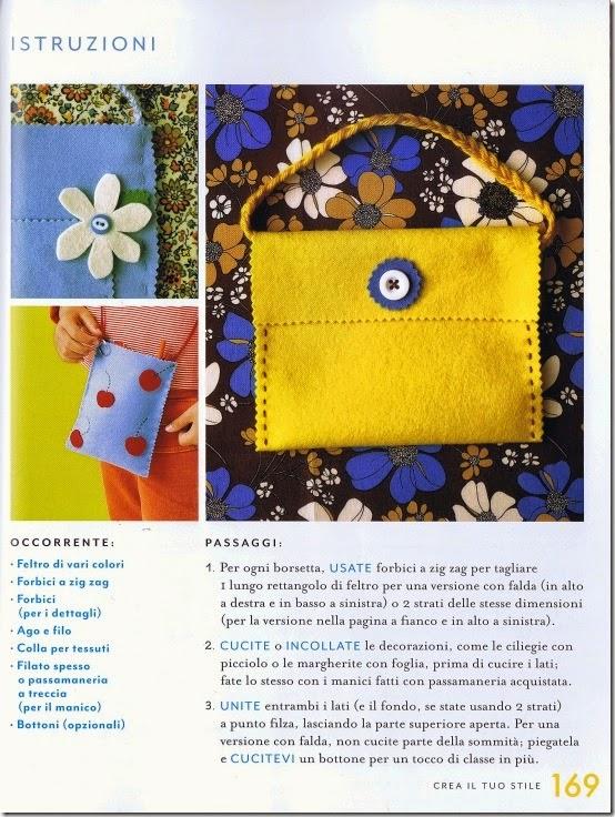 Martha Stewart Art & Craft per i tuoi bambini - Giunti - borsette feltro