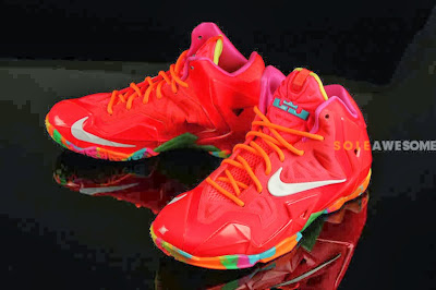 nike lebron 11 gs fruity pebbles 2 01 Another Look at Fruity Pebbles LeBron 11 GS (621712 600)