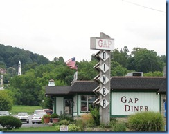 1681 Pennsylvania - Gap, PA - Lincoln Highway - Gap Diner remodeled 1959 Kullman Diner