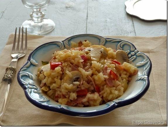 arroz champiñones espe saavedra
