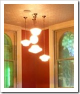 Vintage light chandelier