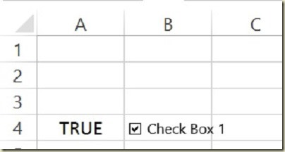 Form Controls in Excel - Form Controls Checked