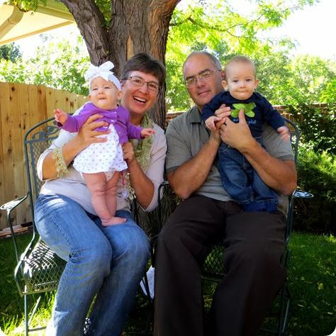 Twin Grandparents!