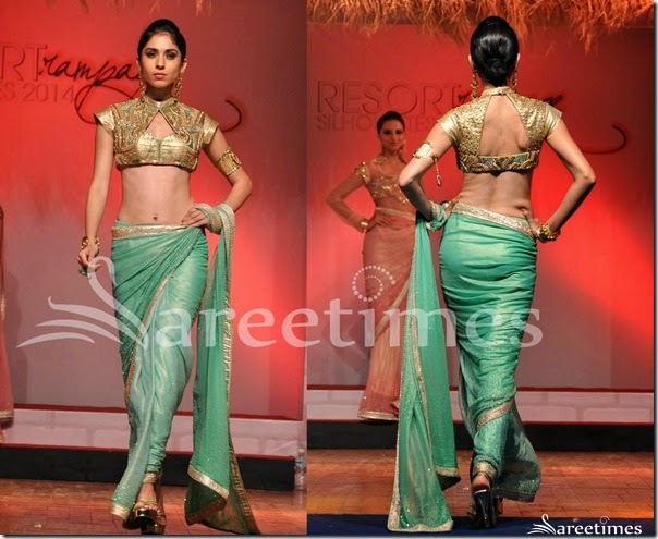 Green_Shimmer_Saree