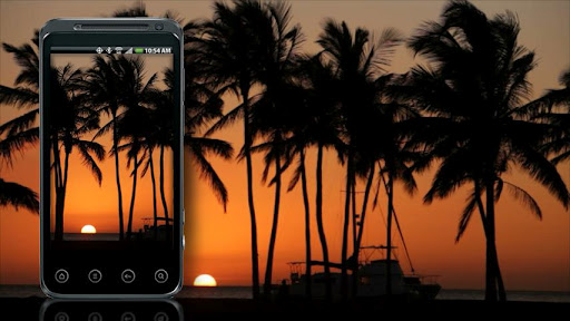 Sunset Live Wallpaper HD