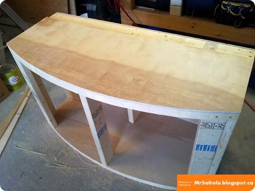 Add top panels & MrSaltolo EduCasts: BUILDING A 72g BOWFRONT AQUARIUM STAND - P2 ...