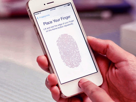Iphone 5s touch id fingerprint