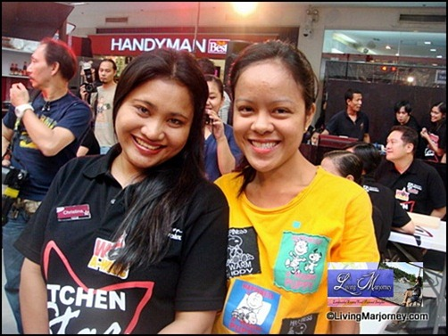 Christina Castro & LivingMarjorney for ElectroluxPH Wok-A-Holic Kitchen Star