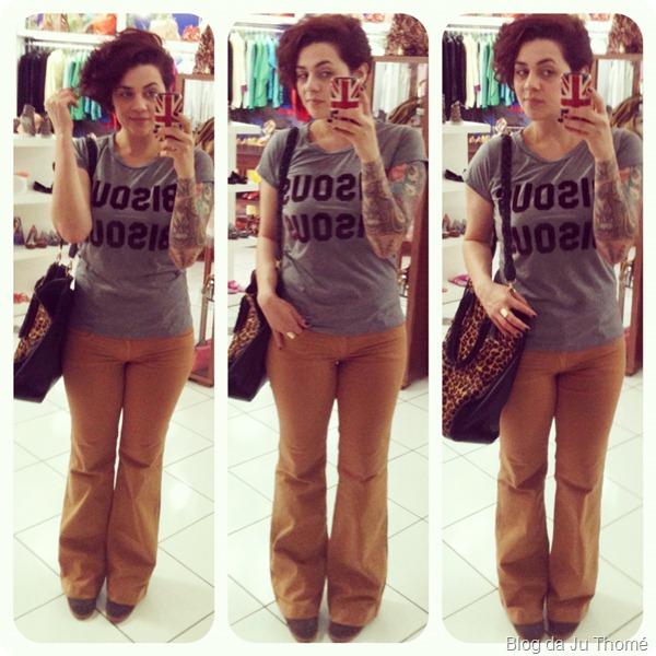 look flare colcci t-shirt bisou bisou thássia naves