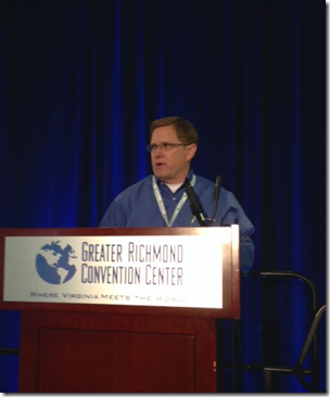 David Rencher presented at the 2014 NGS conference