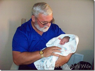 Hannah and Grandpa